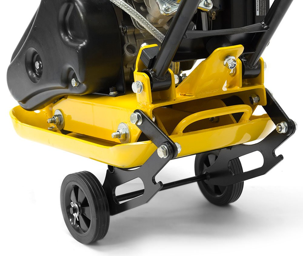 Folding Wheel Kit For The Handy Plate Compactors Handy