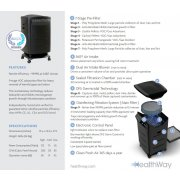 HealthWay HW Deluxe Professional 9-Stage DFS Air Purification System