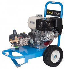 Evolution 2 E2T15250PHR Honda GX390 Powered 3626psi Petrol Pressure Washer