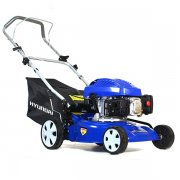 Hyundai HYM43P Petrol Powered Push Rotary Lawnmower