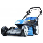 "Hyundai HYM120LI510 51cm / 21"" 116V Cordless Self Propelled Lawn Mower With 2 Batteries & Charger"