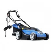 "Hyundai HYM3800E 38cm / 15"" 1600W / 240V Electric Rotary Lawnmower"