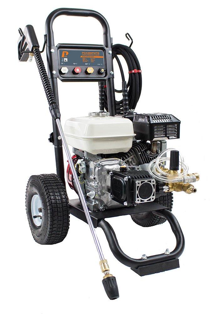 P1 PGX200PWTB Honda GX200 Petrol Engined 3200 Psi / 220 Bar Pressure Washer