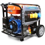 P1PE P10000LE 8kW / 10kVA* Recoil & Electric Start Site Petrol Generator