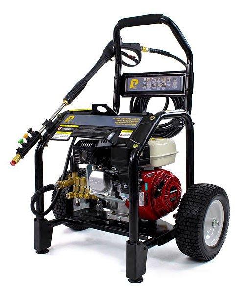 P1 PGX200PWT Honda GX200 Petrol Engined 3200 Psi / 220 Bar Pressure Washer