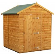 Power 6x6 Apex Garden Shed -Windowless