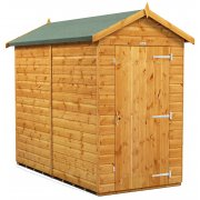 Power 8x4 Apex Garden Shed -Windowless