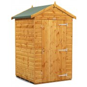 Power Apex 4x4 Garden Shed Windowless