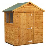 Power Apex 4x6 Garden Shed