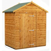 Power Apex 4x6 Garden Shed Windowless
