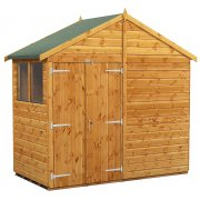 Power Apex 4x8 Garden Shed