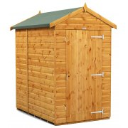 Power Apex 6x4 Garden Shed Windowless