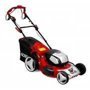 "Cobra MX51S80V 21"" Lawnmower with Twin 40v Batteries"